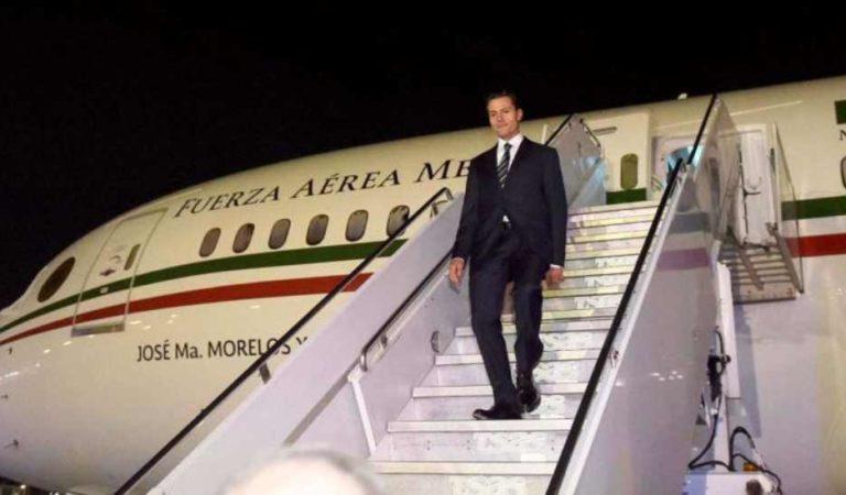 Peña Nieto habría gastado 408 mdp en operación y viajes de avión presidencial: Sedena