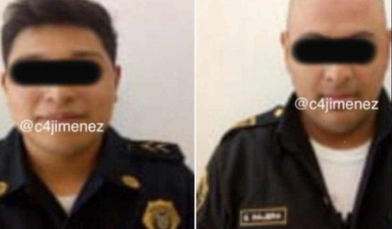 Policías son detenidos en la CDMX por extorsión