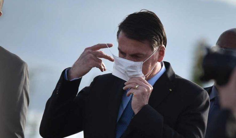 Yo sabía que un día me iba a contagiar, como creo desafortunadamente ustedes también: Bolsonaro