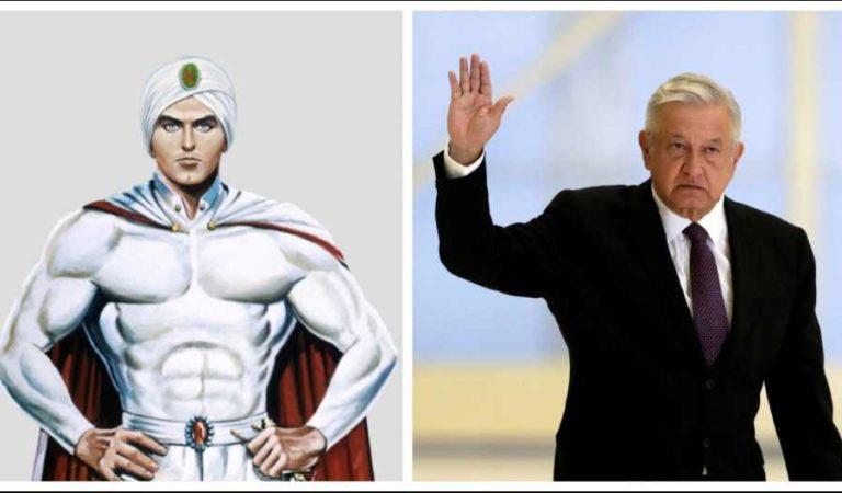 ¿Quién es Kalimán, el superhéroe que citó AMLO para responder a sus adversarios?