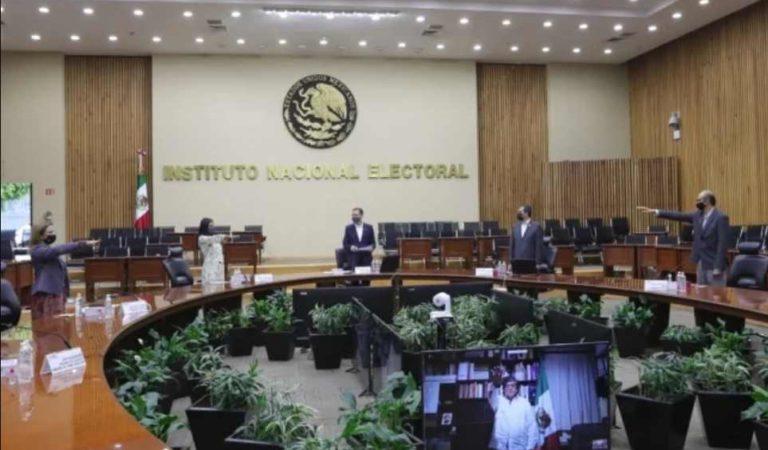 Rinden protesta nuevos consejeros del INE para el periodo 2020-2029