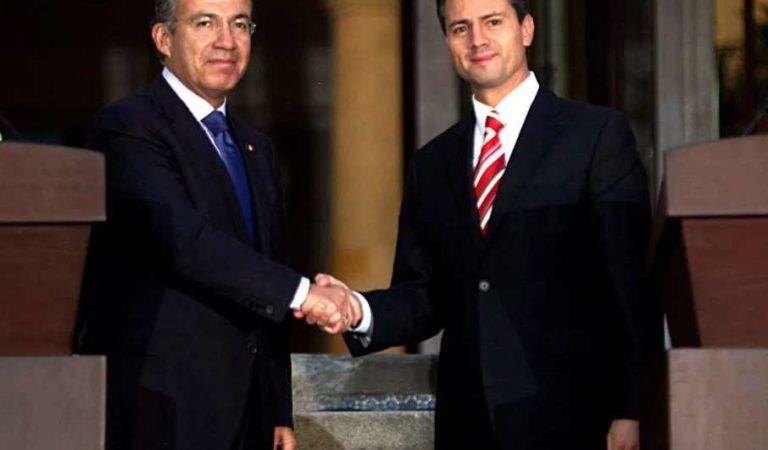 SAT de peña Nieto perdonó evasiones de 85 grandes contribuyentes de Calderón