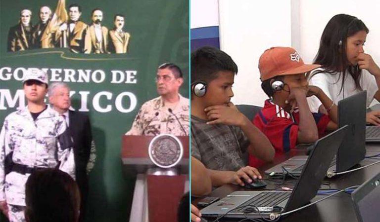SEP y Guardia Nacional elaboran plan para proteger a niñas, niños y adolescentes en medios digitales