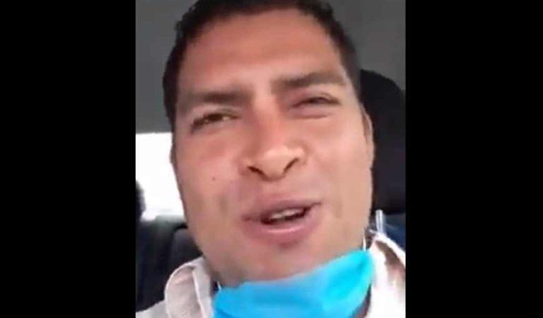 Despiden a funcionario de Huejutla por decir que el covid es pura mam@#%