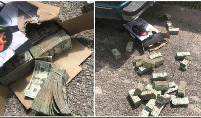 Se topan con ejército y tiran más de 6 millones de pesos en Chetumal