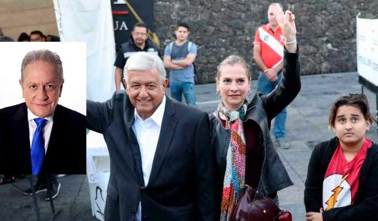 José Cárdenas insulta a AMLO, esposa e hijo menor; lo llama 'chocoflan'