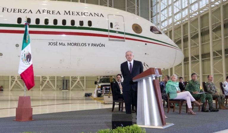 ONU ayudará a AMLO para la venta del avión presidencial