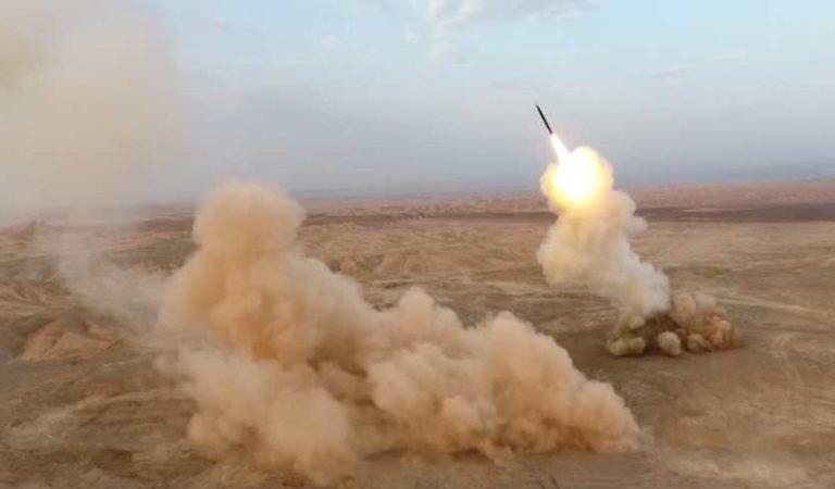 Irán lanza misiles desde las profundidades de la Tierra; las primeras de la historia | VIDEO