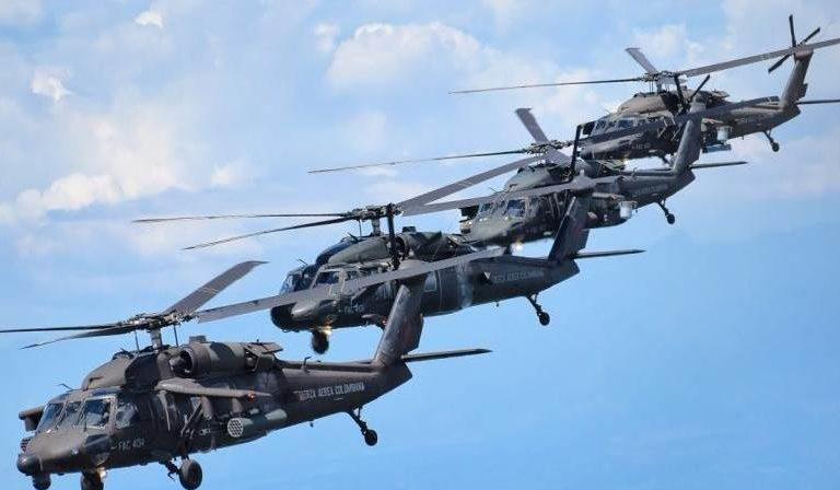 Mueren 9 militares por accidente de helicóptero en Colombia