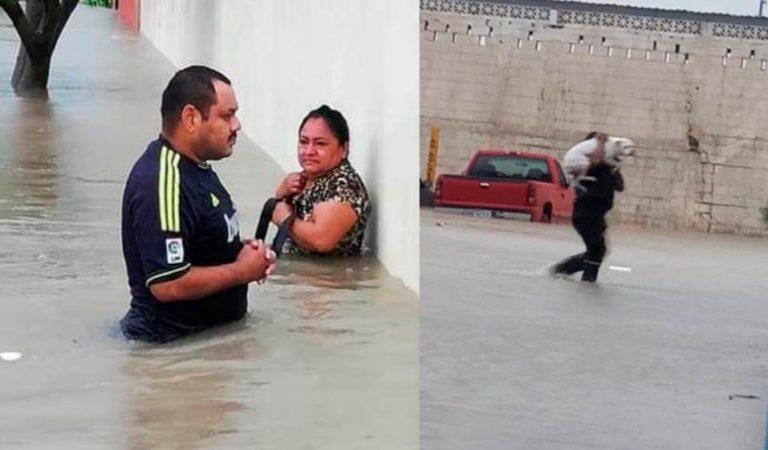 Reynosa: inundaciones y damnificados; Ejército aplica Plan DNIII por daños ocasionados por Hanna