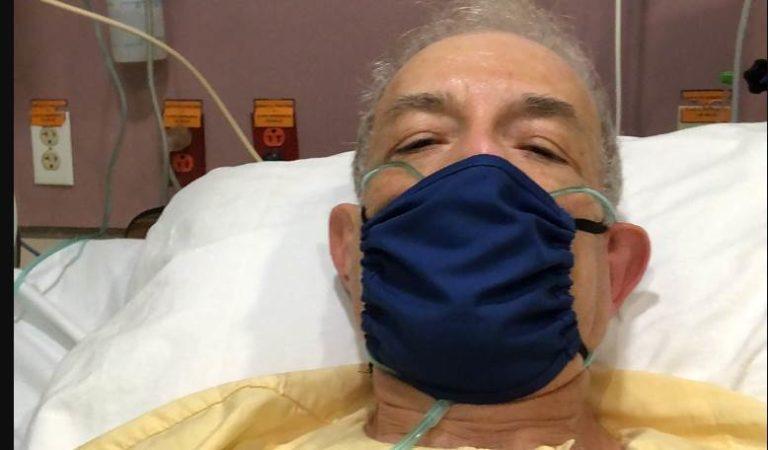 Rubén Luengas sufre infarto, agradece cariño, pero no recomienda infartarse en pandemia
