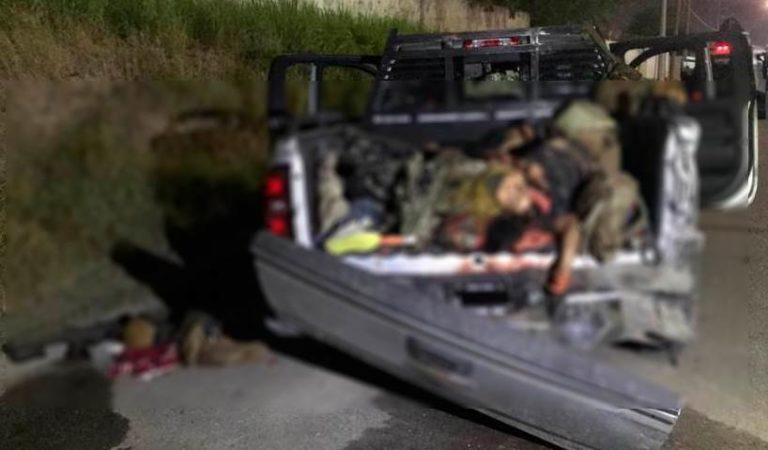 Tropa del Infierno ataca al Ejército; pero 12 son abatidos y demás huyen ⚠️ IMÁGENES FUERTES
