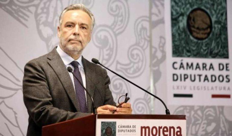 Alfonso Ramírez Cuellar continuará como presidente de Morena hasta 2021