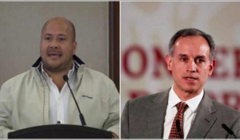 Enrique Alfaro exige la renuncia de López Gatell y lo culpa por muertes ante COVID-19