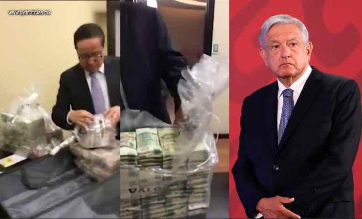 Bastante fuerte el video de los sobornos a panistas; medios no lo difunden mucho como el de Bejarano: AMLO