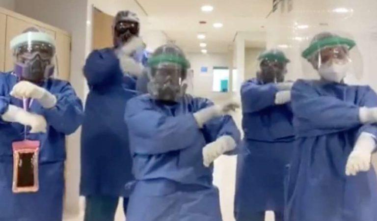 Doctores piden 'quedate en tu P#t4 casa' | VIDEO en Tik Tok