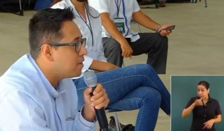 Irving Pineda de Tv Azteca pide renuncia de López-Gatell; luego denuncia amenaza