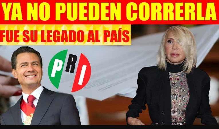 Pacto entre Peña Nieto y Laura Bozzo: nacionalidad mexicana a cambio de apoyo al PRI