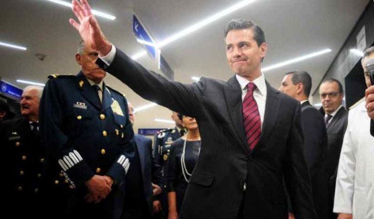 Así reaccionaron usuarios en redes sociales tras la reaparición de Peña Nieto