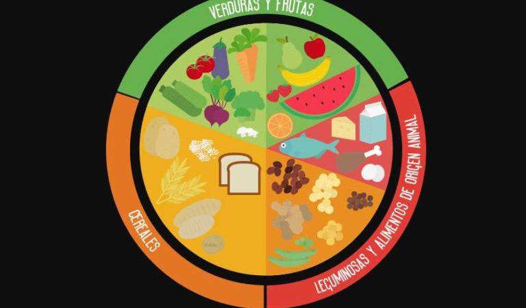 El Plato del Buen Comer: Dibujo, colores y grupos | Imágen