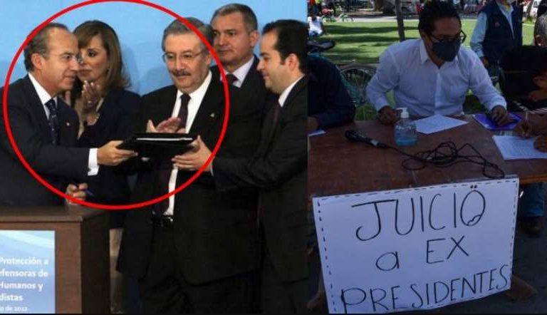 Ministro de la SCJN ligado a Calderón desecha la consulta para enjuiciar a ex presidentes