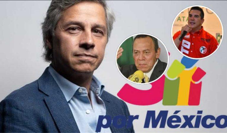 PAN, PRI y PRD se unen a Claudio X González contra AMLO