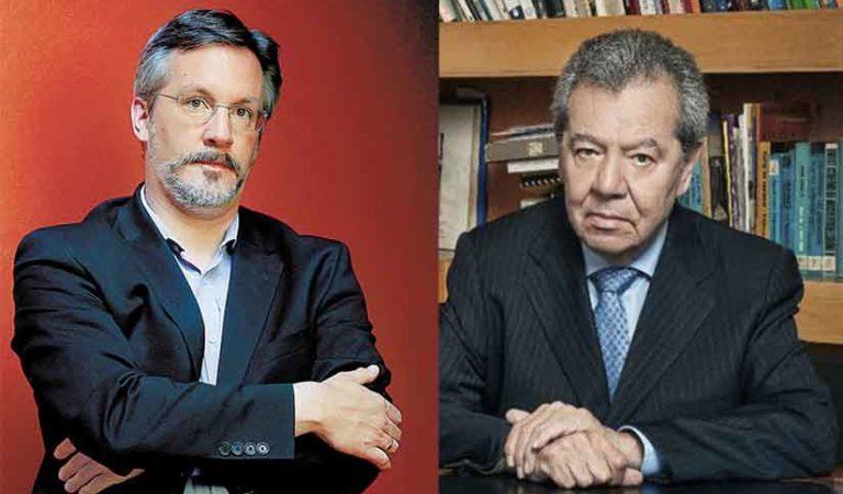 Muñoz Ledo y John Ackerman se pelean por Monreal y Delgado