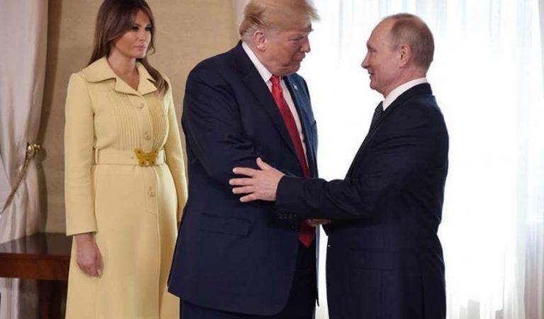 Vladímir Putin envía 'sincero apoyo en este momento difícil' a Donald y Melania Trump