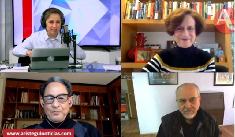 Aristegui 'despide' a Dresser, Aguayo y Meyer de mesa de debate