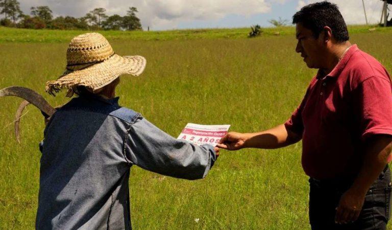 Tlaxiaco, Oaxaca reconocen apoyos del gobierno de AMLO para escuelas