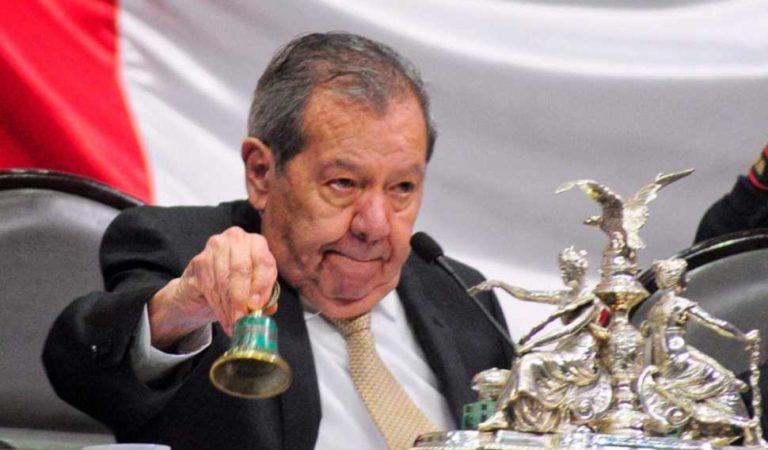 Porfirio Muñoz Ledo se declara presidente legítimo de Morena, acusa a Delgado de violento