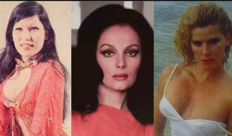 Así lucen las actrices y vedettes del cine de 'ficheras'   FOTOS