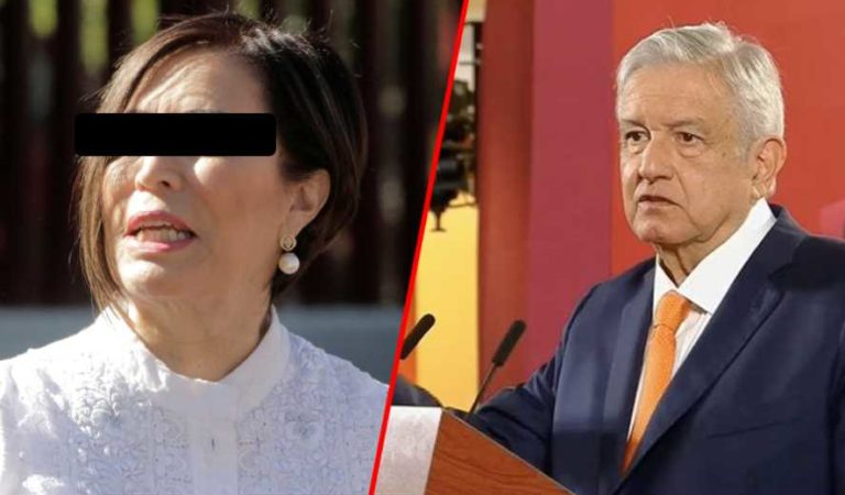 AMLO celebra colaboración de Rosario Robles con FGR; pide no acusar sin pruebas