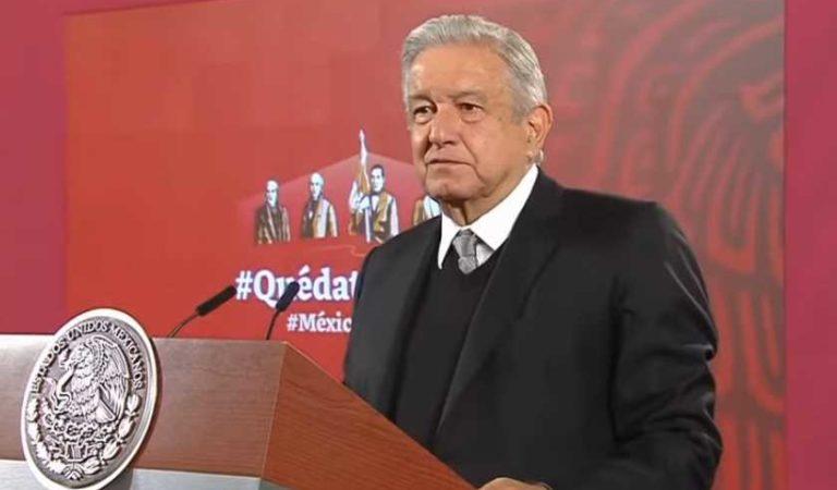 AMLO responde a Calderón tras crítica por manejo de la pandemia