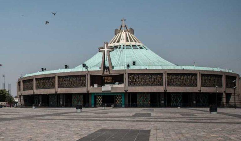 Basílica de Guadalupe permanecerá cerrada del 10 al 13 de diciembre para prevenir contagios de covid-19