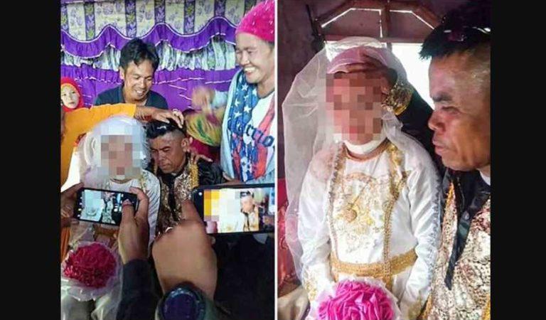Causa indignación al mundo niña que es obligada a casarse con un hombre de 48 años