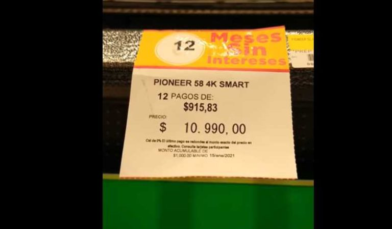 El Buen Fin: etiquetan por error pantallas en 10 pesos | VIDEO
