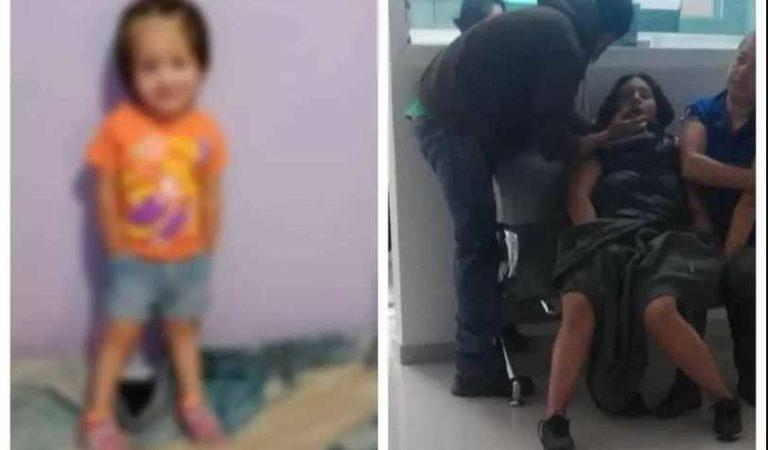 Falleció Kenia; niña de dos años acuchillada por su madre en Ecatepec