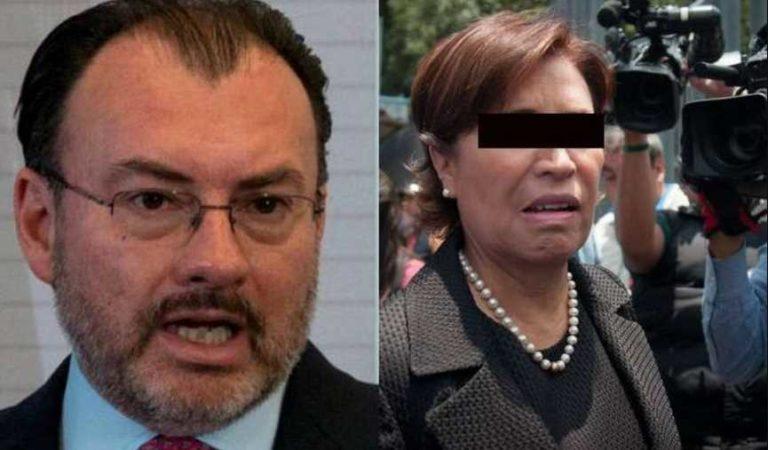 Lamento que Rosario me acuse sin fundamentos para librar su situación legal: Luis Videgaray