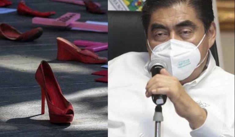 Puebla: 5 feminicidios en una semana; Barbosa declara que solo será investigado uno