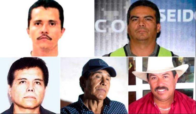 ¿Quiénes son los narcotraficantes en la mira de EU tras la liberación del General Cientifuegos?