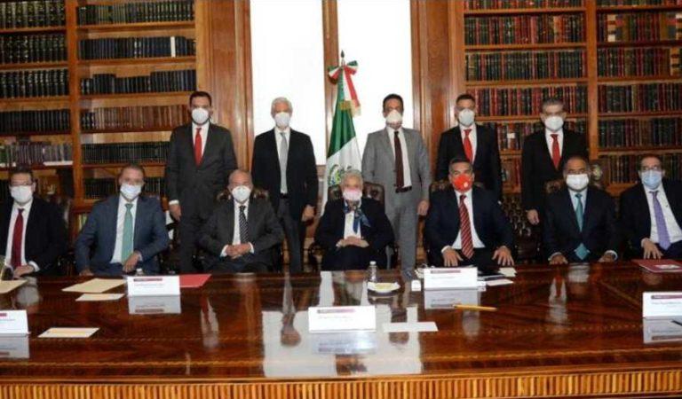 Sánchez Cordero dialoga con gobernadores del PRI sobre Covid-19 y elecciones