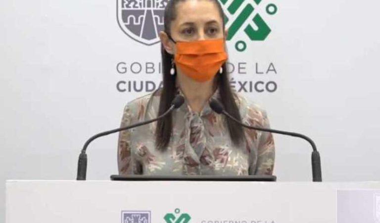 Sheinbaum responde a la OMS: CDMX ha sido responsable en el manejo de la pandemia