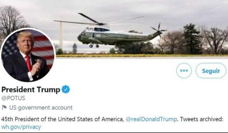 Twitter informó que entregará las cuentas oficiales a Joe Biden aunque Trump se niegue