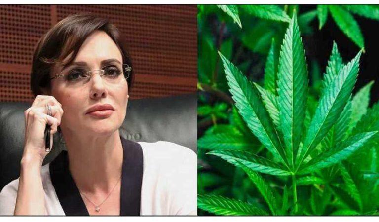 'Voté NO a la marihuana pero ganó el sí': Lilly Téllez tras la aprobación del uso lúdico de la marihuana