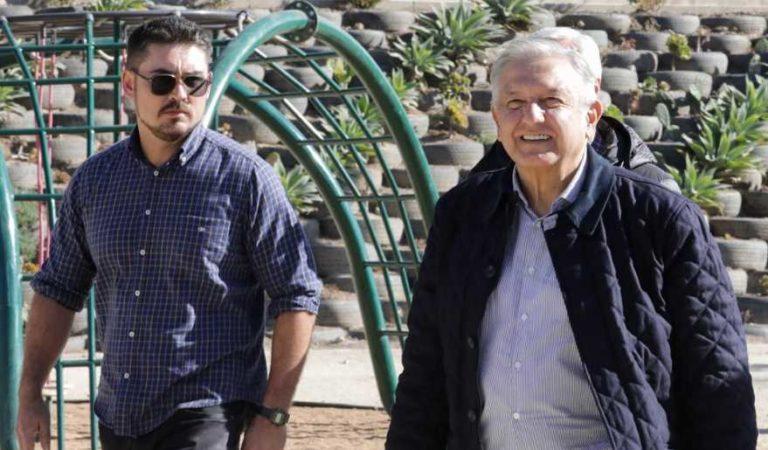 Gobierno de AMLO convierte barranco en hermoso deportivo en Tijuana