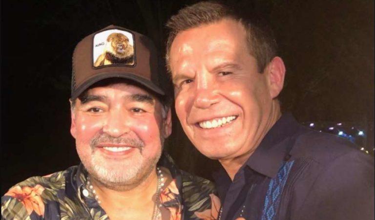 Julio César Chávez sobre Maradona: 'nos vemos en el cielo'
