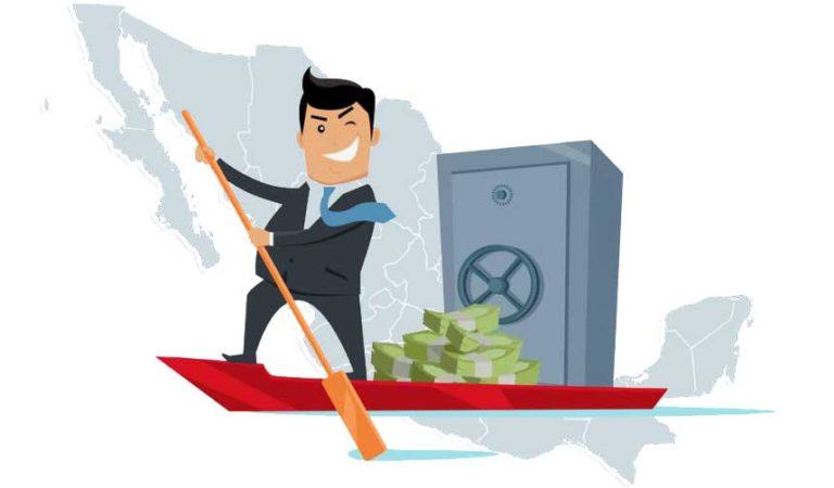 Empresas extranjeras evaden 9 mil millones de pesos en México; los transfieren a paraísos fiscales