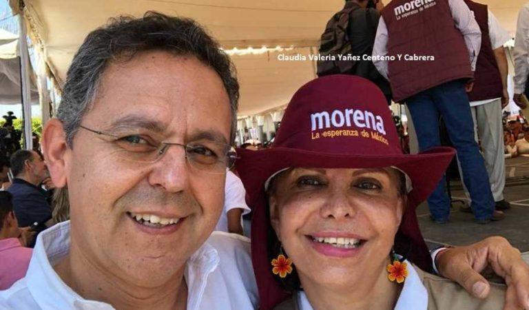 Hermana de César Yáñez renuncia a Morena y culpa a Mario Delgado