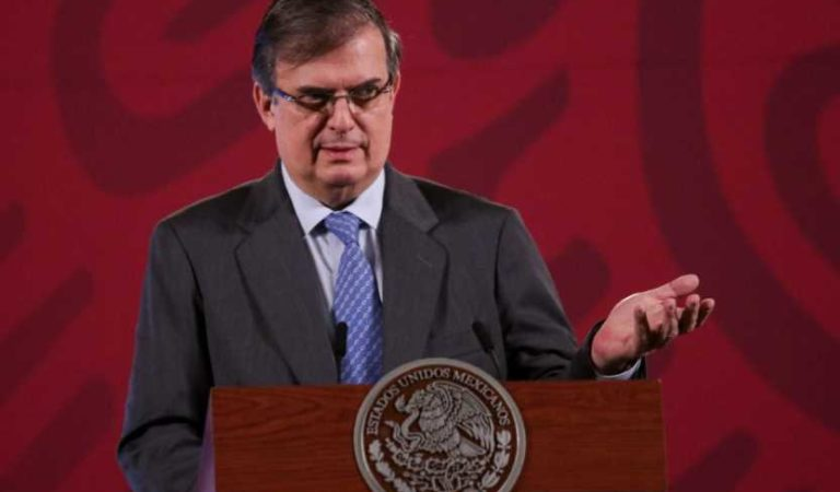 SRE anuncia él embarcó de las primeras vacunas de Pfizer con destino a México